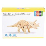 STEAM Make Your Own Wooden Mechanical Dinosaur Assorted