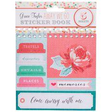 Grace Taylor Away We Go Sticker Flip Book