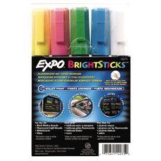 Expo Bright Sticks Bullet 5Ct
