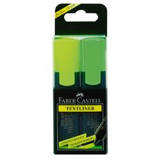 Faber-Castell Highlighter 2 Pack Assorted
