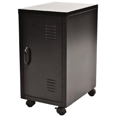 Workspace Metal Locker Black