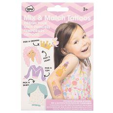 NPW Mix & Match Princess Tattoos