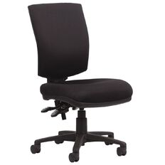 Chairmaster Krest Highback Chair Black Black