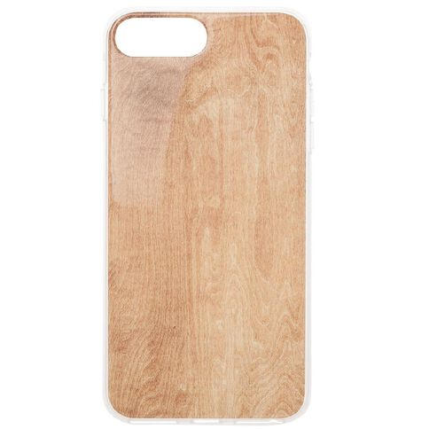 New Craft iPhone 6+/7+/8+ Wood Grain Case