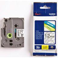Brother Label Tape Tze-131 12mm Black On