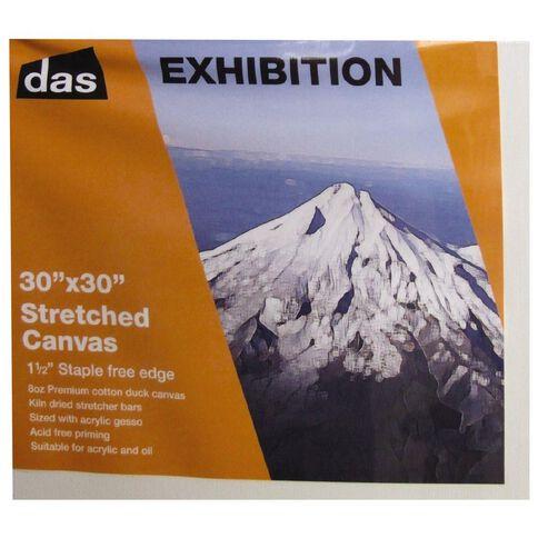 DAS 1.5 Exhibition Canvas 30 x 30in White