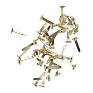 Impact Pins & Clips Set 160 Piece Brass