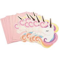Artwrap Unicorn Invitations & Envelopes 8 Pack