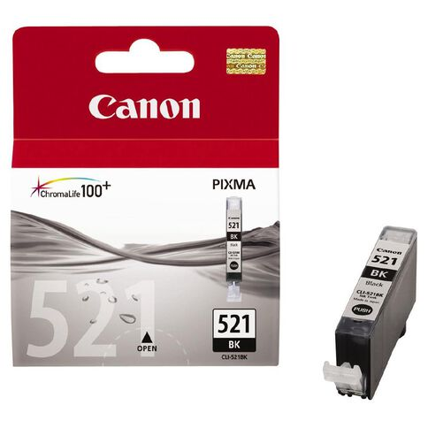 Canon Ink CLI521 Photo Black (500 Pages)