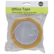 Impact Office Tape 25mm x 66m Large Core Clear