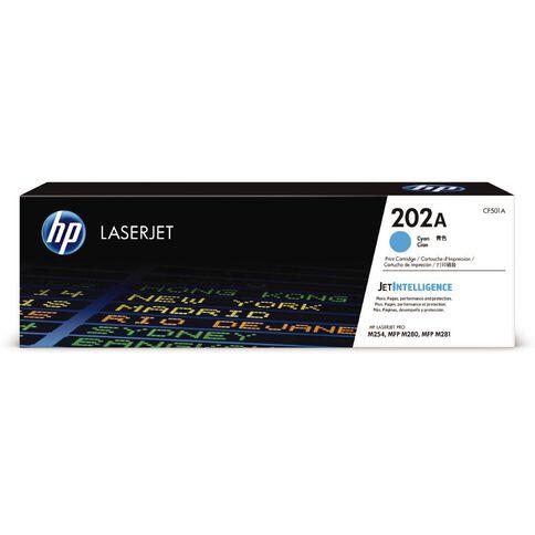 HP 202A LaserJet Toner Cyan (1300 Pages)