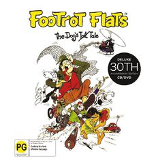 Footrot Flats The 30th Anniversary CD/DVD by Various Artists 2Disc