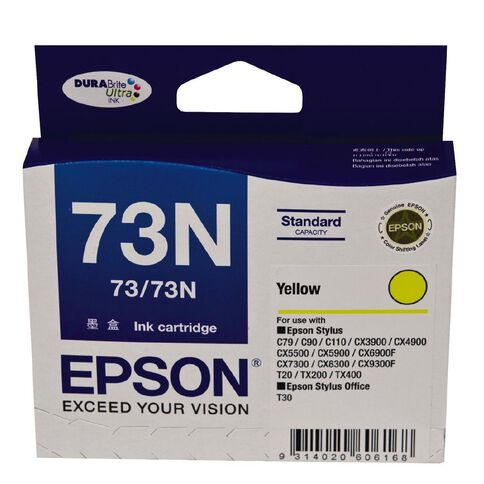 Epson Ink 73N Yellow (380 Pages)