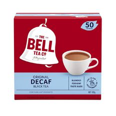 Bell Original Decaf Tagless Tea Bags 50 Pack