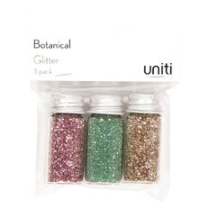 Uniti Botanical Glitter 3 Pack