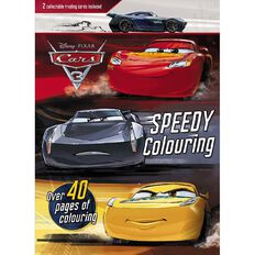 Disney Pixar Cars 3 Colouring Book