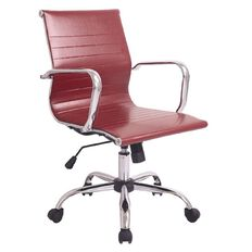 Workspace Replica Eames Office Chair Red