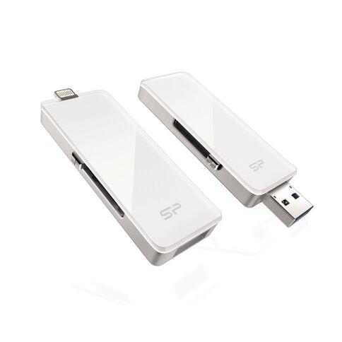 Silicon Power Z30 32Gb Lightning USB Drive White