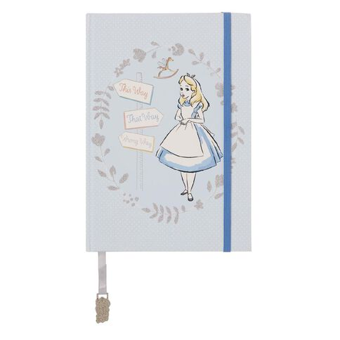 Disney Alice In Wonderland Premium Notebook A5