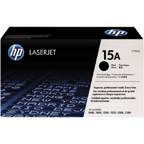 HP Toner 15A Black (2500 Pages)