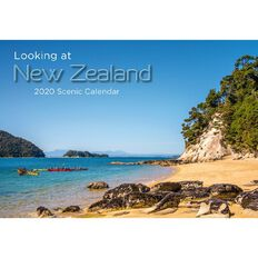 Calendar 2020 Looking At New Zealand Booklet