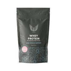NZ Muscle Whey Protein Strawberry Milkshake 500g