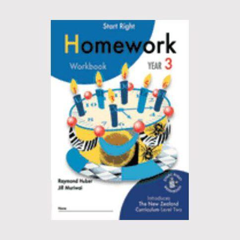 SR Year 3 Homework Workbook