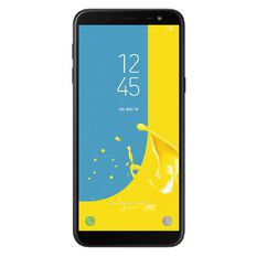 2degrees Samsung Galaxy J6 Black
