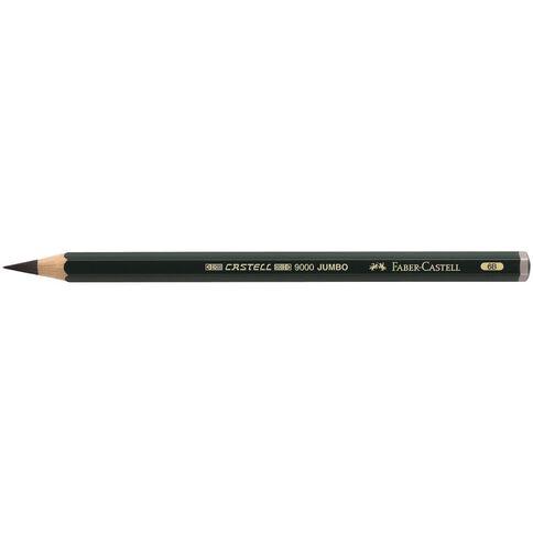 Faber-Castell Artist Grade 9000 Jumbo Pencil 6B Grey