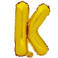 Artwrap Foil Balloon K Gold 35cm
