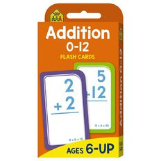 Hinkler School Zone Addition 0-12 Flash Cards