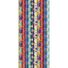Artwrap Rollwrap FSC Mix Birthday General 3m x 70cm Assorted
