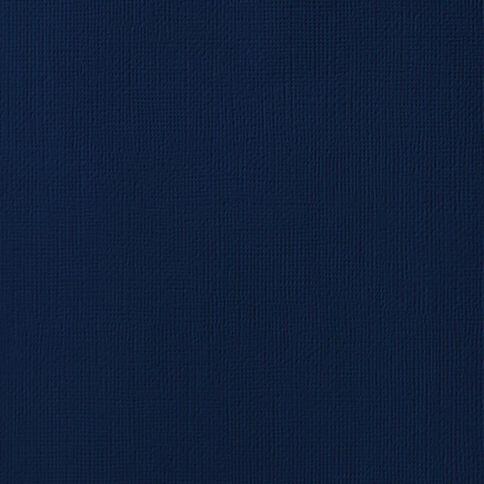 American Crafts Cardstock Textured Storm Grey 12in x 12in