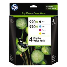 HP Ink 920XL Value 4 Pack