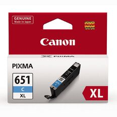 Canon Ink CLI651XL Cyan (750 Pages)