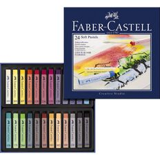 Faber-Castell Creative Studio Soft Pastels 24 Pack
