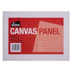 DAS Canvas Panel 6 x 8in White