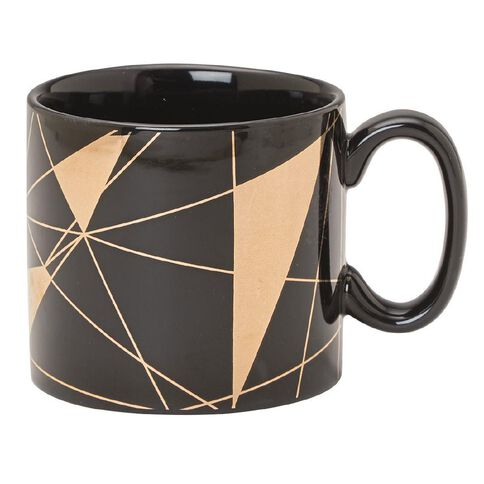 Uniti Mug Black/Gold Foil