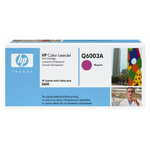 HP Toner 124A Magenta (2000 Pages)