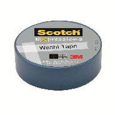 Scotch Washi Craft Tape 15mm x 10m Blue