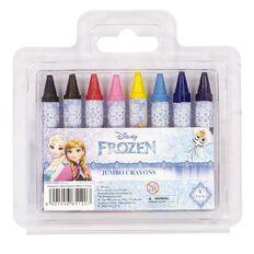 Frozen Jumbo Crayons 8 Pack