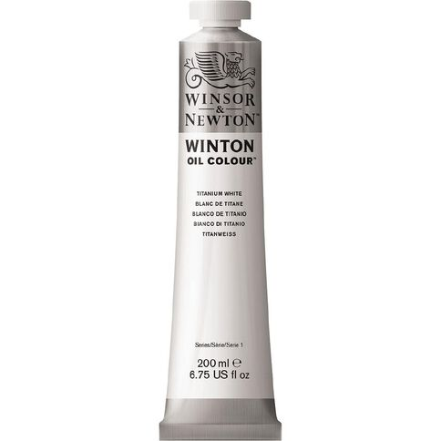 Winsor & Newton Winton Oil Titanium White 644 200ml