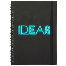 Banter Neon Ideas Spiral Notebook A5