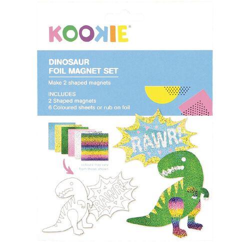 Kookie Foil Magnet Set Dinosaur 2 Pack