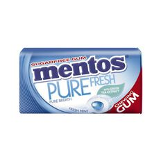 Mentos Pure Fresh Mint Tin 29g