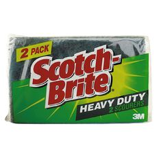 Scotch-Brite Heavy Duty Scouring 2 Pack