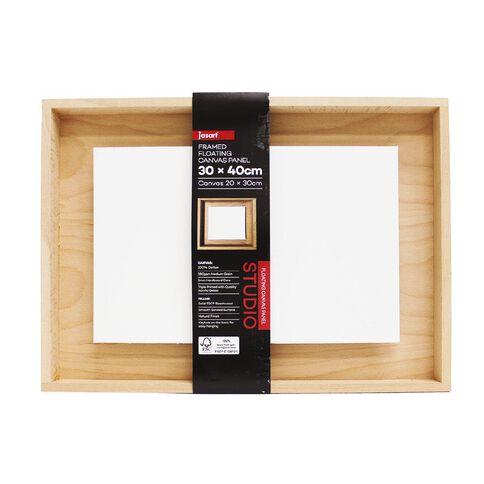 Jasart Framed Floating Canvas Panel 30x40cm