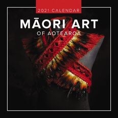 BrownTrout 2021 Square Wall Calendar Maori Art