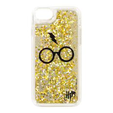 Harry Potter iPhone 6/7/8 Glasses Glitter Case