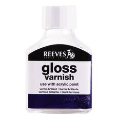 Reeves Acrylic Gloss Varnish 75ml